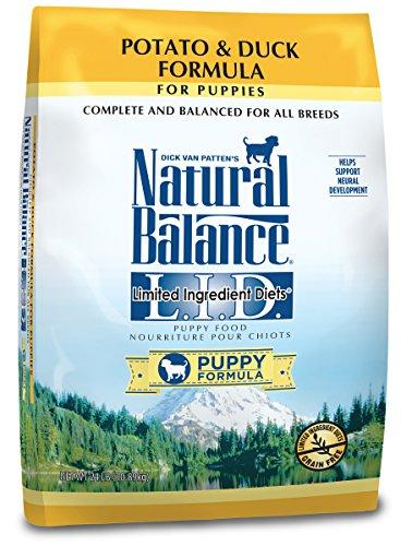 Natural Balance Puppy Formula L.I.D. Limited Ingredient Diets Potato & Duck Dry Dog Food, 24 lb