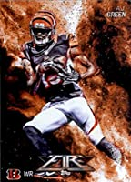 2014 Topps FIRE Football Card #96 A.J. Green - Cincinnati Bengals MINT