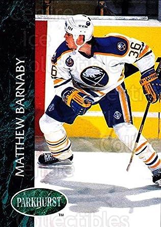 Amazon.com  (CI) Matthew Barnaby Hockey Card 1992-93 Parkhurst (base ... a31a1521e