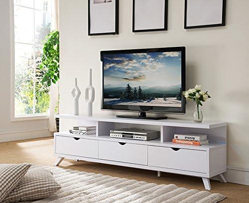 Smart home - Soporte para televisor (75 Pulgadas, 3 cajones y 3 estantes Abiertos): Amazon.es: Juguetes y juegos