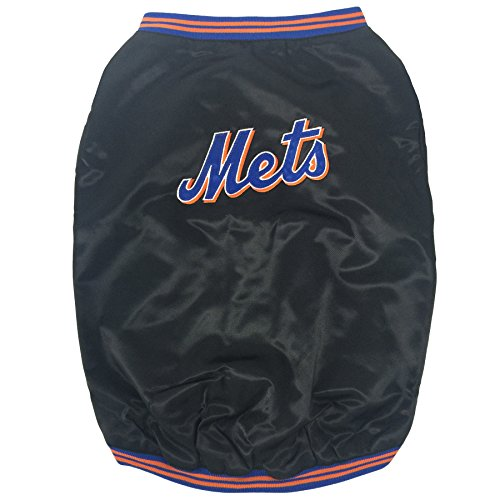 Sporty K9 New York Mets Dugout Dog Jacket, Large