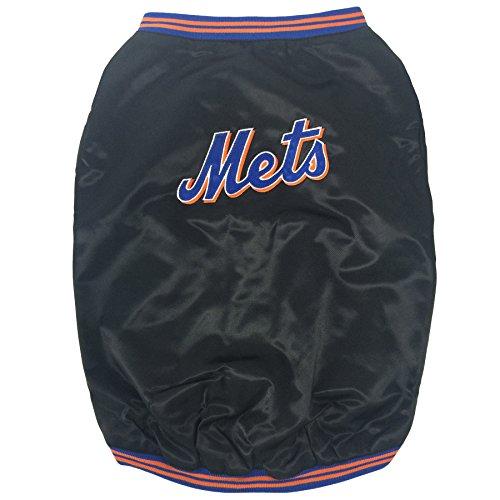 Sporty K9 New York Mets Dugout Dog Jacket, Medium