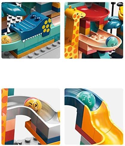 Logo FC Giocattolo Tuta Blocchi di Costruzione Vestito for Bambini for Bambini Costruzione di Puzzle Blocchi Speedway Pista -256pcs