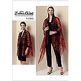 Vogue Ladies Easy Sewing Pattern 1505 Kimono Style Jackets