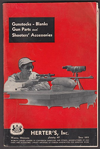 Herter's catalog 1950 gun stocks blanks gun parts shooter accessories
