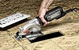 """Rockwell 4-1/2"""" Compact Circular Saw, 5 amps, 3500 rpm, with Dust Port and Starter Kit– RK3441K"""
