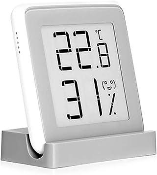 para Xiaomi Mijia Sensor de Humedad Temperatura Bluetooth con Pantalla LCD-Vista Remota en Mi Home App Term/ómetro Interior Higr/ómetro Digital Para Xiaomi Mi Temperature And Humidity Monitor