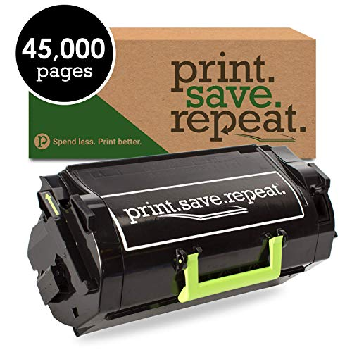Print.Save.Repeat. Lexmark 521XL Extra High Yield Remanufactured Label Applications Toner Cartridge for MS711 [45,000 Pages]
