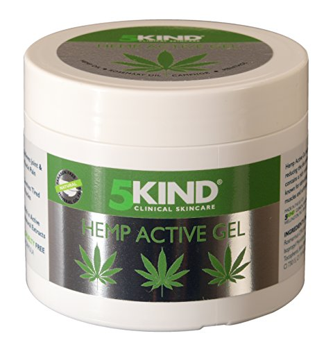 Hemp Joint & Muscle Active Relief Gel- High Strength Soothing Cannabis Oil...