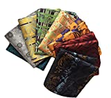 MENDENG Men's 8 Pack Mixed Paisley Floral Pocket Square Wedding Handkerchief