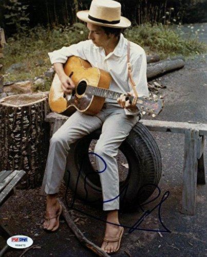 Bob Dylan Signed Authentic 8X10 Photo Autograph Graded Gem Mint 10! PSA (Bob Dylan Signed)