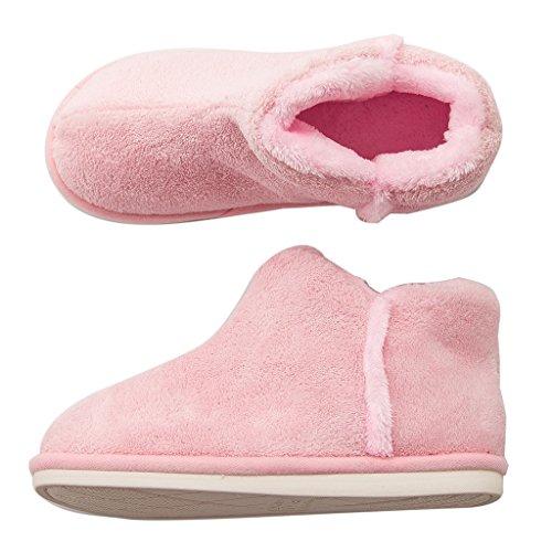 Invernali Calde Pantofole Per E Calzature Rosa Spessi Igroscopiche Alte Cotone Confortevoli Scaldamuscoli A Dww Antiscivolo Caldi In TqSORw0T