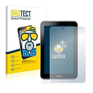 2x BROTECT Matte Protector Pantalla para Samsung Galaxy Tab 2 (7.0) P3110 Protector Mate, Película Antireflejos