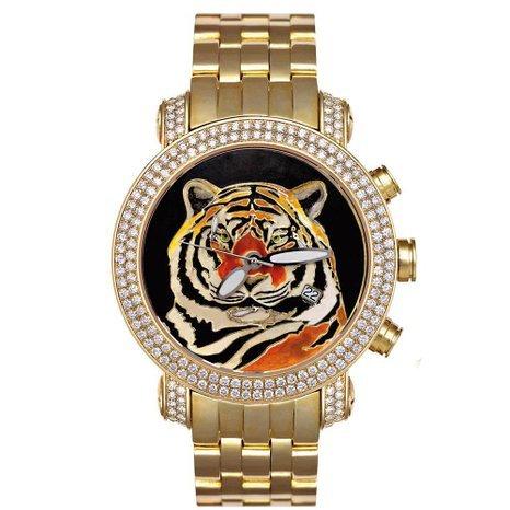 Joe Rodeo Diamond Men's Watch - CLASSIC gold 7 ctw