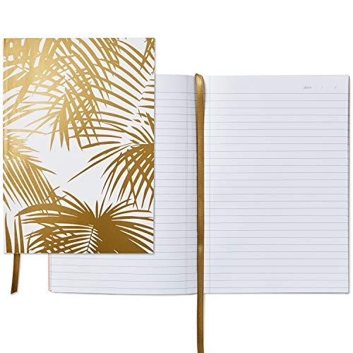 Hallmark Signature Gold Softcover Journal (Gold Palm Print) - 5STZ5074