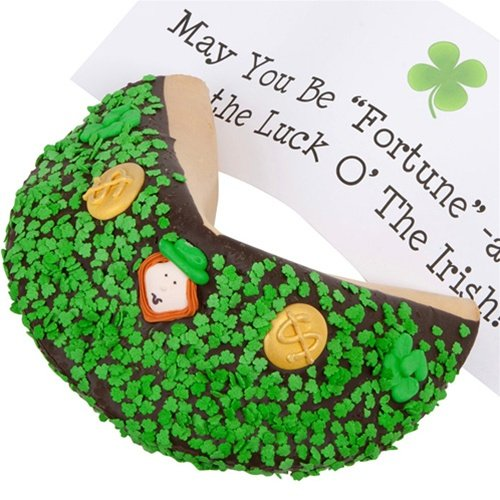 Lady Fortunes® Saint Patrick's Day Giant Fortune Cookie