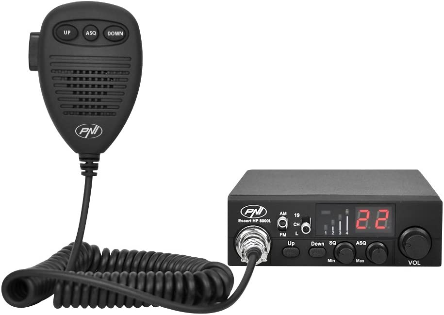 CB Radio Receiver//Transmitter PNI Escort HP 8000L Adjustable ASQ 4/ W Keylock