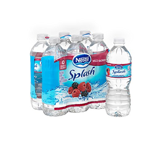 Nestle Pure Life Splash, Wild Berry, 16.9 Fluid Ounce (Pack of 6) Berry Splash