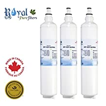 LG 5231JA2006A, LG 5231JA2006B, LG LT600P Premium Water Filter Replacement RPF-5231JA2006A by Royal Pure Filters (Pack of 3)