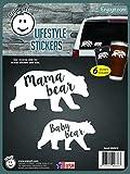Enjoy It Mama Bear, Baby Bear Car Stickers, 6 pieces