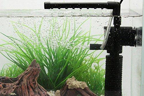 Hrph Mini 3 en 1 multi-función de Acuario Purificador de agua del tanque de Calidad Filtro