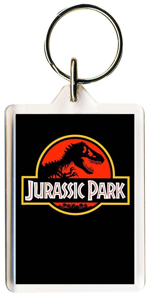 S8keMedia Jurassic Park #6 Keyring 50mm x 35mm