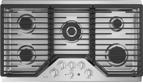 36 gas cooktop stainless - 9