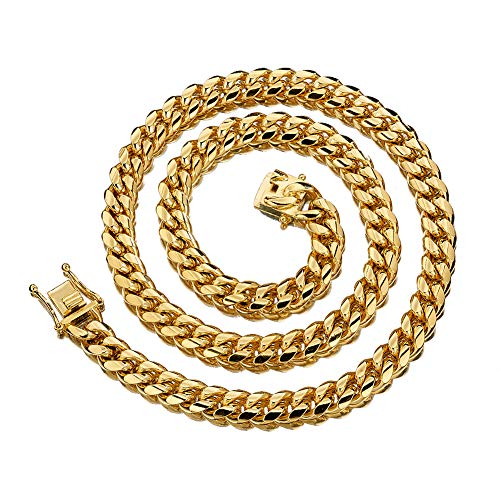 (W&W Lifetime Mens 24k Gold Plated 24
