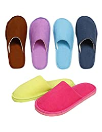 Warm and Soft House Slipper Unisex Candy Color Indoor Shoes