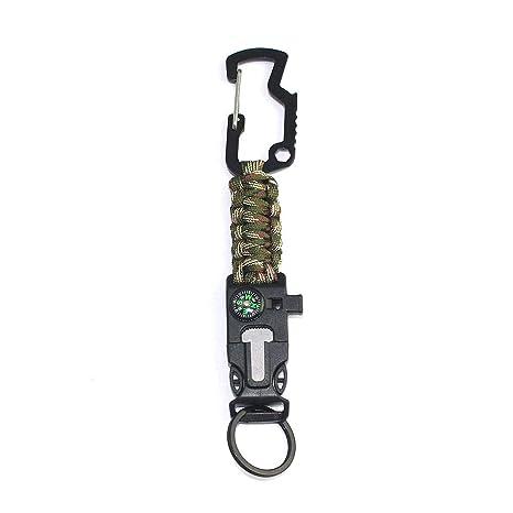 Lhl Edc Outdoor Paracord Survival Keychain, Kit de ...
