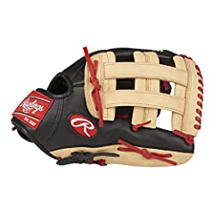 Show some personality on the field with the Rawlings gamer xle Baseball glove. Featuring a brightly colored full-grain leather shell, this soft Baseball glove with Pro-Style features is designed to maximize Defensive performance. This 12-3/4-...