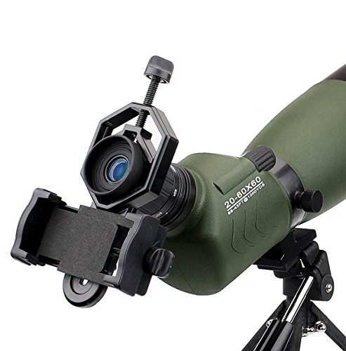 51Lx3UQ b3L - SVBONY 20-60x60/25-75x70mm Shooting Spotting Scope Bak4 Prism Spotting Scope Telescope IP65 Waterproof FMC Optical Lens with Tripod and Phone Adapter
