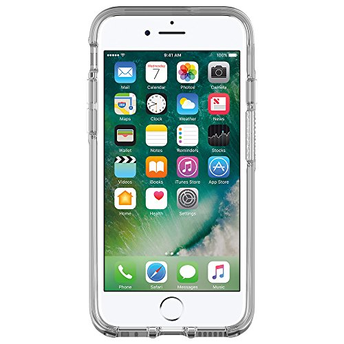 OtterBox SYMMETRY CLEAR SERIES Case for iPhone 8/7 (ONLY) - Retail Packaging - CLEAR (CLEAR/CLEAR) by OtterBox (Image #2)