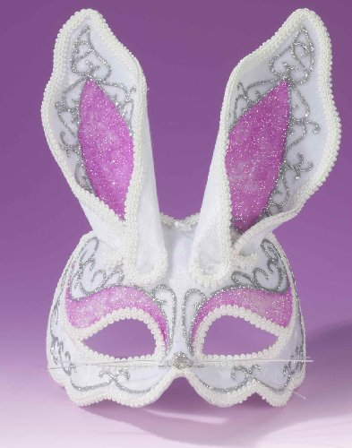 Fancy Bunny Rabbit Venetian Mask]()