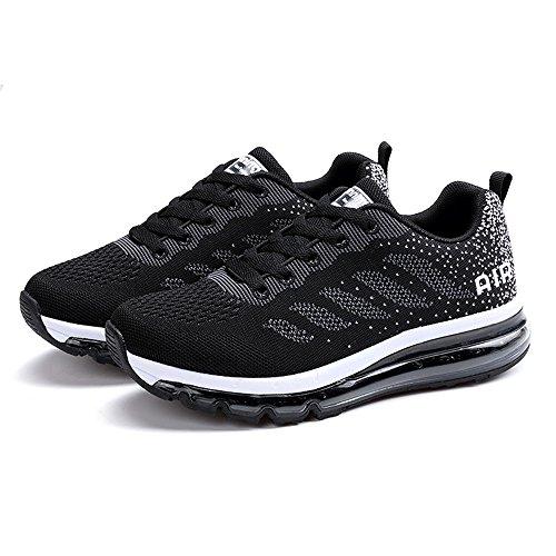 Ginnastica Per Absorbing Competition Scarpe Shoes Gym Jogging Donna Uomo Kischers Air Athletic Da Running Leggere Nere Sportive Fitness Camminare Sneakers 1px8gWwPq