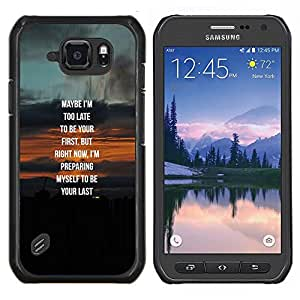 Stuss Case / Funda Carcasa protectora - Vrai Couple sweetheart miel - Samsung Galaxy S6Active Active G890A