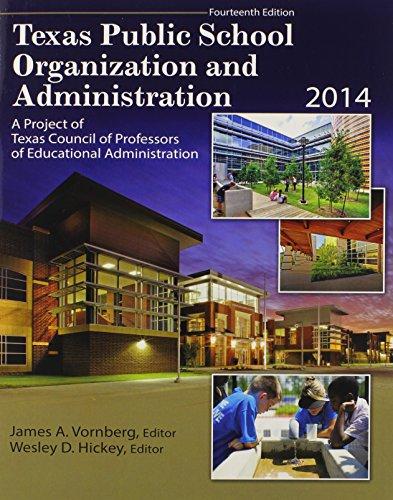 Texas Public School Organization and Administration: 2014