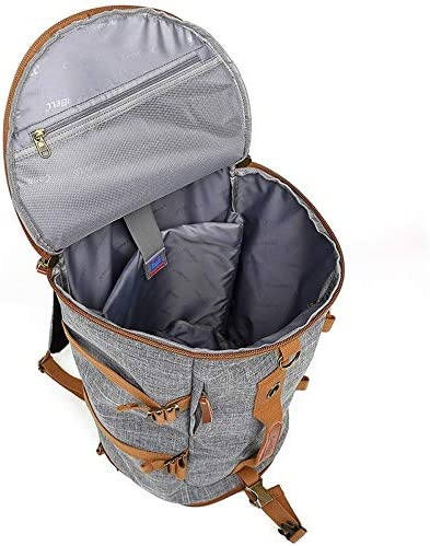 HDHUA Laptop Bag Nylon Travel Bag Man Cylindrical High-Capacity Multi-Functional Outdoor Travel Backpack