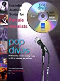Pop Divas: Essential Audition Songs for Female Vocalists (Book & CD)