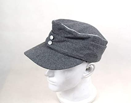 e8d0a1d453d40f Replica WWII German M43 Officer WH EM field Panzer Wool Cap Hat Grey 57 58  59