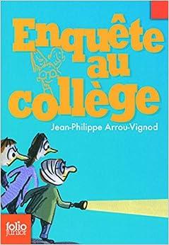 Book Enquete Au College (Folio Junior) (French Edition)