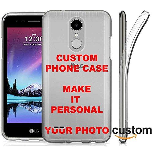Premier Tool - LG K30/[K10 2018]/Premier Pro Ultra Slim TPU Phone Cover Case Amazon Custom Tool YOUR MEMORY PHOTO HERE