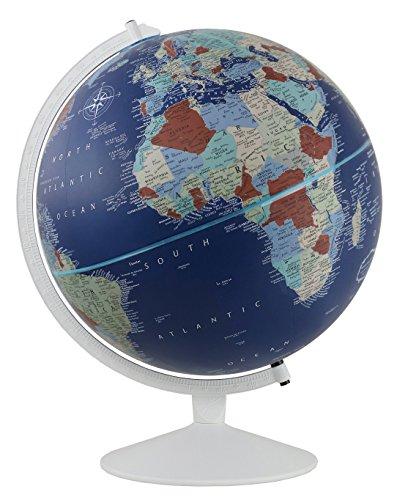 (Replogle Sailor- Velvety Texture Nautical Themed Political World Globe, Designer Series(12