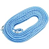 Vaps(ヴァップス) 横ずれ防止 洗濯物干しロープ ハンガーストップ 5m ブルー