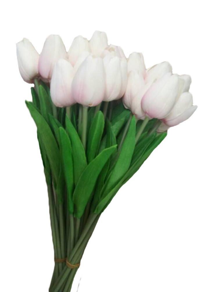 (C) - TATGB home Tulip Artificial Flower Latex Real Touch Bridal Wedding Bouquet Home Decor,10pcs Pink B079P5CMBV  C