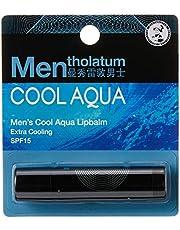 Mentholatum Men's Cool Aqua Lip Balm, 3.5g
