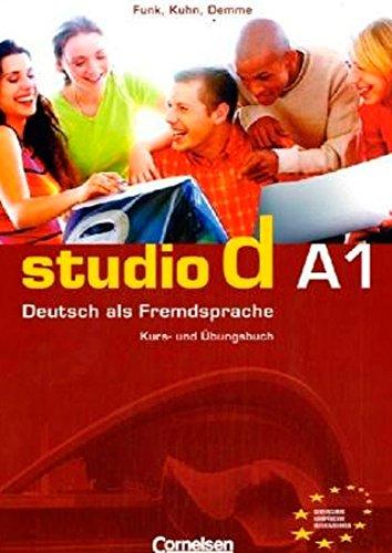 Studio D A1 Kurs und Übungsbuch mit Lerner Audio-CD