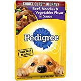 Cheap Pedigree Choice Cuts In Gravy Beef, Noodles And Vegetables Flavor In Sauce Adult Wet Dog Food, (16) 3.5 Oz. Pouches