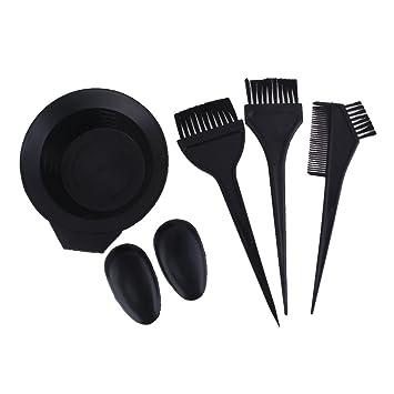 Buy Imported Salon Hair Color Dye Bowl Comb Brush Set Hairdressing ...