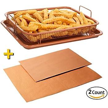 Amazon Com Gotham Steel Nonstick Copper Crisper Tray